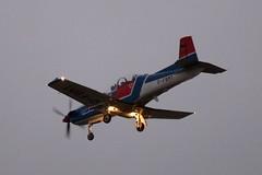 D-FBMT DSC_8139 (sauliusjulius) Tags: dfbmt pilatus pc9b pc9 3d4d3f eis aircraft gmbh hbhql