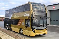 Go North East X-lines 6337 / YY64 GWX (TEN6083) Tags: transport buses publictransport bus nebuses consett gonortheast 6337 alexanderdennis hownsgill trident2 xlines enviro400mmc yy64gwx