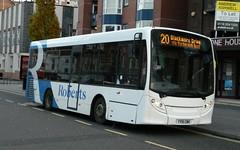 Roberts Travel ADL Enviro200 - YY15 CMX (J.J.Pay 4615) Tags: 20 leicester transport uk midlands bus yy15cmx alexander dennis e200