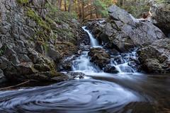 Bear's Den swirl (t s george) Tags: longexposure flowing stream river waterfall newsalemma newengland canon6dmarkii