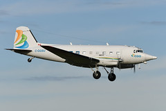 C-GGSU Basler BT-67  EGPK 10-11-19 (MarkP51) Tags: cggsu basler bt67 douglas dc3c cggaviation prestwick airport pik egpk scotland airliner aircraft airplane nikon d500 nikonafp70300fx sunshine sunny