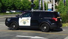 California Highway Patrol (Emergency_Spotter) Tags: california highway patrol ford explorer chp fpiu hayward 345 san jose bay area steelies black white dual spots whelen service active