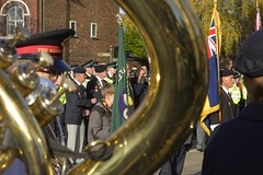 Remembrance (Tony Tooth) Tags: nikon d7100 nikkor 55300mm remembranceday remembrancesunday parade ceremony salvationarmy band brassband leek staffs staffordshire