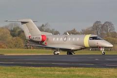 LX-PCB Pilatus PC-24 at London Oxford Aiport . (Bob Symes) Tags: lxpcb pc24 116 jetfly jet bizjet oxford pilatus