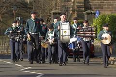 OnParade (Tony Tooth) Tags: nikon d7100 nikkor 55300mm band marchingband remembrancesunday leek staffs staffordshire