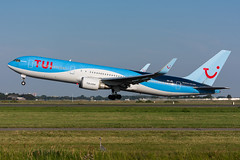 OO-JNL - TUI Airlines Belgium - Boeing 767-304(ER)(WL) (5B-DUS) Tags: oojnl tui airlines belgium boeing 767304erwl b763 ams eham amsterdam schiphol airport airplane aircraft aviation flughafen flugzeug planespotting p spotting