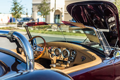 Cars & Coffee #33 (hetrickwesley) Tags: 2019 canon80d carshow cars carscoffee carsandcoffee florida gainesville november sigma1835 sigma1835f18 sigmalens kitcar cobra shelby sportscar roadster interior