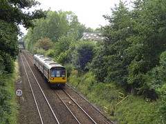 Northenden Pacers (ee20213) Tags: northenden northern dmu pacer class142 142046 brel 142028