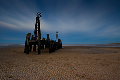 Beyond the pier (aidy14) Tags: pier landscape beach sea structure stannes lancashire fylde