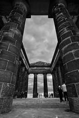 Penshaw Monument (M.aldo85) Tags: fuji fujifilm xt20 northeast england penshawmonument penshaw samyang 12mm blackandwhite bw historic