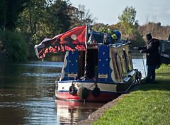 remembrance on the canals (midcheshireman) Tags: canal shropshireunion cheshire remembrance