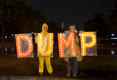 dump (greenelent) Tags: removetrump washington dc streets whitehouse protest activist people