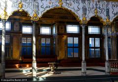 sultan's court (jacbfotografie.co.uk) Tags: sultan palace istanbul turkey jacbfotografie light shade sunlight gold royal ottman turkish architecture mosaic