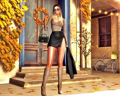 The sun goes down (Niki Cole) Tags: sl secondlife nikicole preciousniki blog blogger fashion trends beauty senihaoriginals sad event moncada lelutka maitreya glamaffair doux tentacio amias minimal backdropcove