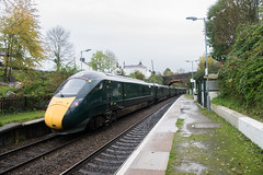 GWR Class 802 IET at St James Park, Exeter (philwakely) Tags: stjamespark exetercentral exeter gwr fgw greatwesternrailway greatwestern firstgreatwestern first hitachi iep iet class800 class802 diesel dieselmultipleunit trains train railway railways rail