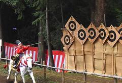 Moro no Yabusame - Culture Day Mounted Archery (Ronin Dave) Tags: japan cultureday horses horsebackarchery yabusame matsuri festival bunkanohi saitama moronoyabusame samurai archery kyudo martialarts japaneseculture travel
