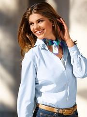 Walbusch n°1060 (Blouse et Foulard 2) Tags: blouse foulard walbusch silk scarf