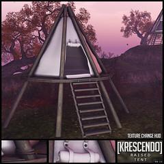 [Kres] Raised Tent ([krescendo]) Tags: kres krescendo secondlife virtualworlds sl