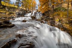 Cascade de Foncouverte (jean-louis21) Tags: cascades waterfall clarée mélèzes automn larches alpes