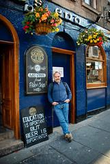 Me at The World's End on my birthday (jason.bennion) Tags: 2015scotland edinburgh royalmile scotland theworldsend pubs restaurantsdinersbars