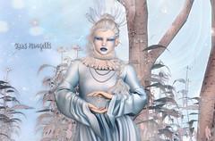Frosty (roxi firanelli) Tags: enchantment thesnowqueen catwa analogdog andore venge elemental zibska unstable sorumin adorablystrangewares appliers winter secondlife fairytales