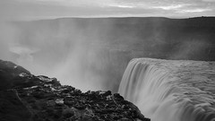 Dettifoss (Evolved Vision) Tags: fujifilmxt3 fujinonxf1655mmf28 dettifoss iceland bw blackandwhite waterfall watervapor