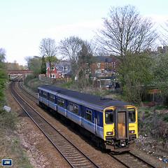 150275 Flixton 060425 (jim40135) Tags: class150 sprinter flixton northernrail regionalrailways