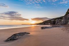 The Whiterocks beach (Salvatore Gerace) Tags: dawn ireland nordireland portrush sand sea sunrise thewhiterocks beach coleraine irlandadelnord regnounito