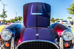 Cars & Coffee #34 (hetrickwesley) Tags: 2019 canon80d carshow cars carscoffee carsandcoffee florida gainesville november sigma1835 sigma1835f18 sigmalens roadster shelby cobra kitcar purple