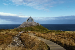 Ceide Fields visitor centre (clairescosmos) Tags: nikon d5600 tourism travelphotography travel mayo ireland eire sightseeing tourist archaeology architecture coast seaside sea path