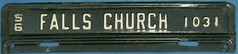* Virginia local tax (Falls Church) (sixes & sevens) Tags: 1956 license plates licenseplates va virginia notmyplate