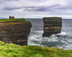 Downpatrick Head (clairescosmos) Tags: nikon d5600 tourism travelphotography travel mayo ireland eire sightseeing tourist geography geology sea coast weather waves rock erosion cliff
