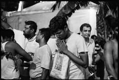 FIRE WALKING CEREMONY (waex99) Tags: 2019 3200 50mm 6400iso epson kodak leica m6 oct ruby singapore summicron tmz firewalk hindu v800 3200iso 6400 analog argentique festival film fire indian m man men push rangefinder religion tradition walk