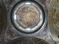 Italy - Rome - Basilica San Andrea delle Fratte - Dome (JulesFoto) Tags: italy rome roma church interior