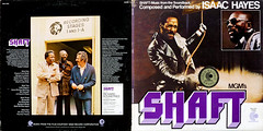 Shaft - Full Cover (epiclectic) Tags: 1971 soundtrack isaachayes fullcover epiclectic vintage vinyl record album cover art retro music sleeve collection lp epiclecticcom