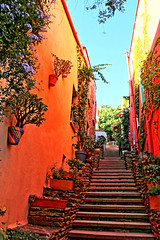 Collioure - Le quartier Mouré 5991 (franck.barré) Tags: collioure