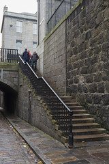 Coming Down (syf22) Tags: up stairs steps stone staircase top above overhead elevated ladder apex summit upward skyward higher uphill going