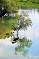 Karlovac, Croatia, River Kupa - Green... (Marin Stanišić Photography) Tags: karlovac croatia river kupa green boat karlovaccounty