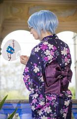 _MG_3133 (Mauro Petrolati) Tags: altea lucca comics games 2019 cosplay cosplayer rei ayanami yukata kimono palazzo pfanner neon genesis evangelion first children best girl grill version