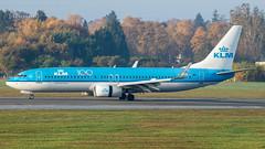 PH-BCB KLM Boeing 737-8K2(WL) cn 39443 (thule100) Tags: phbcb klm boeing7378k2wl cn39443 eddh ham hamburg frankkrause