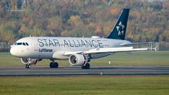 D-AIZN Lufthansa Star Alliance Airbus A320-214 cn 5425 (thule100) Tags: daizn lufthansa staralliance airbusa320214 cn5425 eddh ham hamburg frankkrause