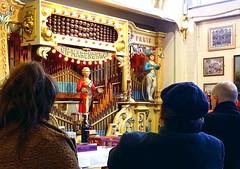 Sunday lunchtime concert, Amersham Organ Museum (Snapshooter46) Tags: sundaylunchtimeconcert amershamorganmuseum people mechanicalmusic fairgroundorgan cafeorgan buckinghamshire danceorgan