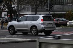 Czech Rep. CD - Toyota Land Cruiser (PrincepsLS) Tags: czech republic diplomatic license palte germany berlin toyota land cruiser