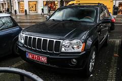 Belgium Export - Jeep Grand Cherokee (PrincepsLS) Tags: belgium belgian export license plate germany berlin spotting jeep grand cherokee