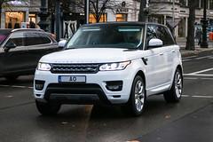 Latvia Individual - Land Rover Range Rover Sport (PrincepsLS) Tags: lativa latvian individual license plate ao germany berlin spotting land rover range sport