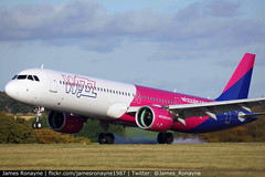 HA-LVE | Airbus A321-271NX | Wizz Air (james.ronayne) Tags: halve airbus a321271nx wizz air 8941 w6 wzz aeroplane airplane plane aircraft luton ltn eggw canon 100400mm raw stunning gorgeous beautiful sharp sunny bright 5ds airliner airline passenger pax