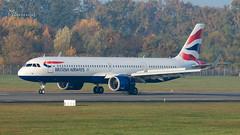 G-NEOW British Airways Airbus A321-251NX cn 8983 (thule100) Tags: gneow britishairways airbusa321251nx cn8983 eddh ham hamburg frankkrause