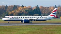 G-NEOW British Airways Airbus A321-251NX cn 8984 (thule100) Tags: gneow britishairways airbusa321251nx cn8983 eddh ham hamburg frankkrause