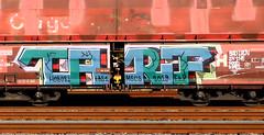 Graffiti on Freights (wojofoto) Tags: freighttraingraffiti freighttrain fr8 freights cargotrain vrachttrein güterzug graffiti streetart amsterdam nederland netherland holland wojofoto wolfgangjosten tarif
