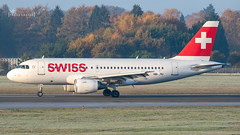 HB-IPU Swiss Airbus A319-112 cn 713_0010 (thule100) Tags: hbipu swiss airbusa319112 cn713 eddh ham hamburg frankkrause